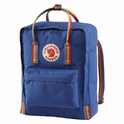 Fjallraven Kanken Rainbow Deep Blue Rainbow Pattern Bag