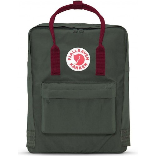 Kånken Forest Green-Ox Red