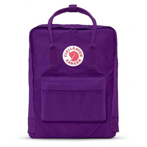 fjallraven kanken purple bag