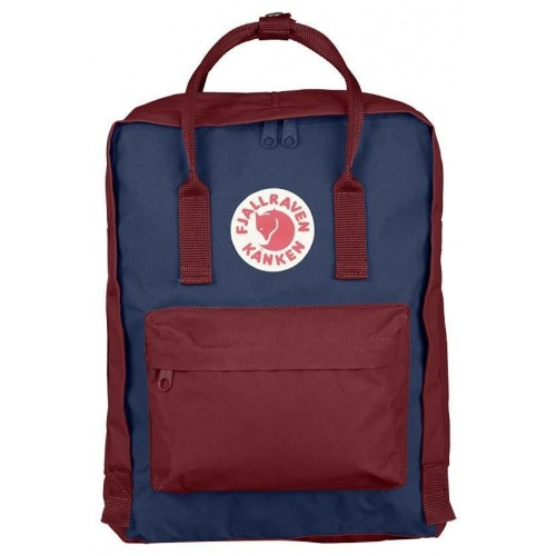 Kånken Royal Blue-Ox Red bag