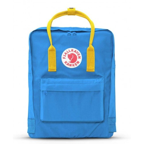 fjallraven Kånken UN Blue-Warm Yellow backpack