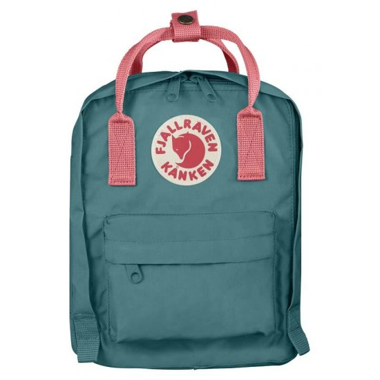 Kanken Kids Frost Green-Peach Pink Bag