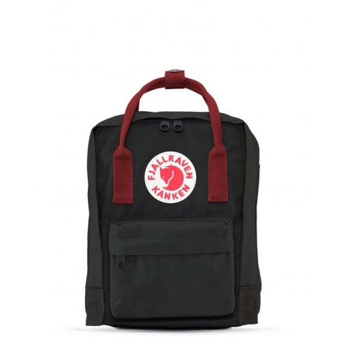 Kanken Mini Black-Ox Red