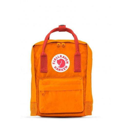 Kanken Mini Burnt Orange-Deep Red