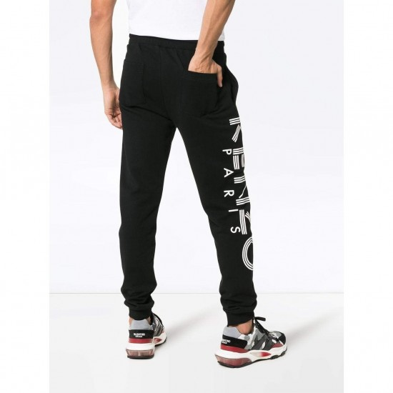 Kenzo Sport Paris Logo Men's Pants Black