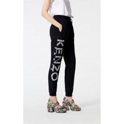 Kenzo KENZO Logo Jogging Black Pants Women