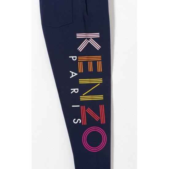 Kenzo Women KENZO Logo Jogging Pants Blue