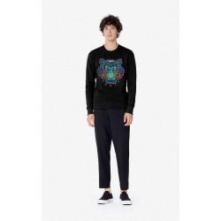 Tiger Christmas Sweatshirt Black