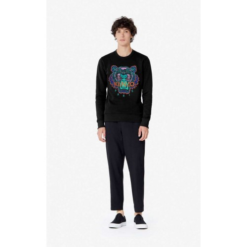 Tiger Christmas Sweatshirt Black