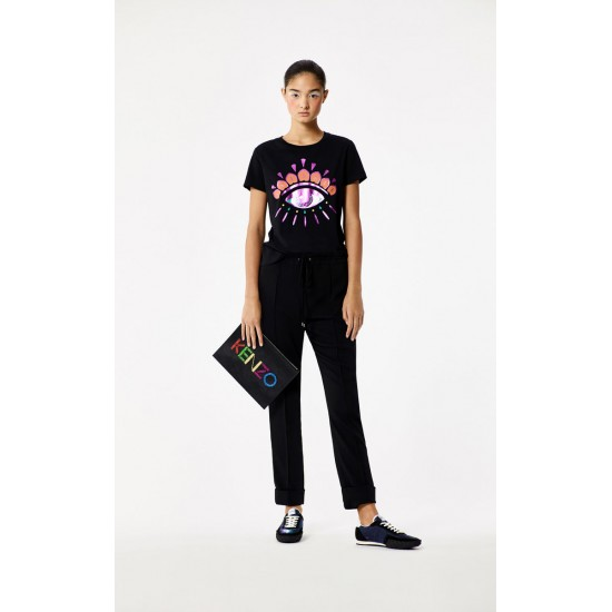 Kenzo Holiday Collection Eye T-Shirt Black