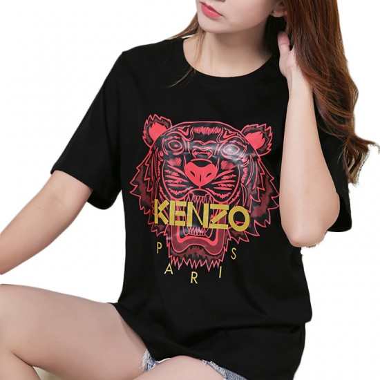 Kenzo Black T Shirt Women