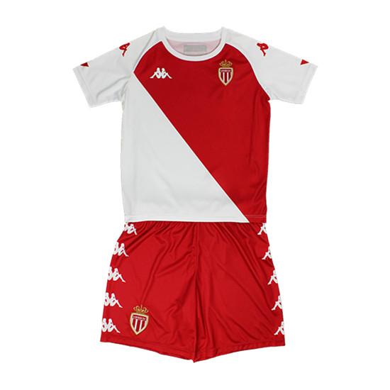 AS Monaco 2020 2021 Home Kids Kit