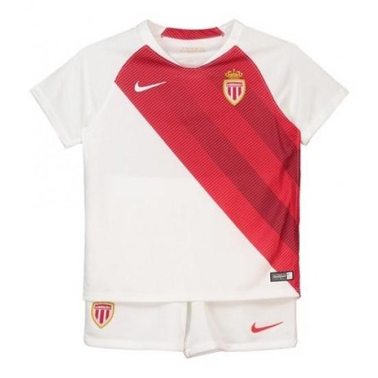 AS Monaco 2018-19 Home Kit - Kids