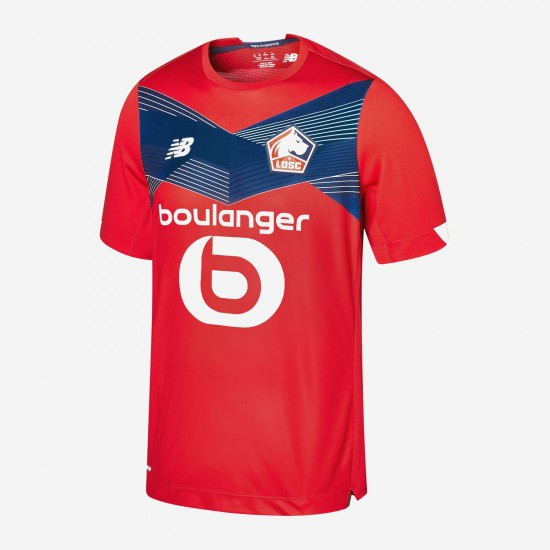 Lille OSC Home Jersey 2020 2021
