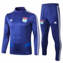 Olympique Lyonnais Blue Soccer Tracksuit 2019 2020