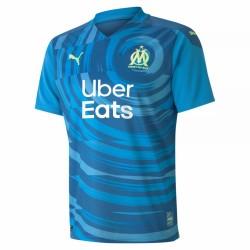 Olympique de Marseille third jersey blue 2020 2021