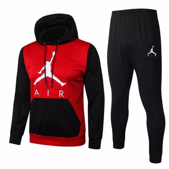 Jordan Red Casual fleece Presentation Suit 2020