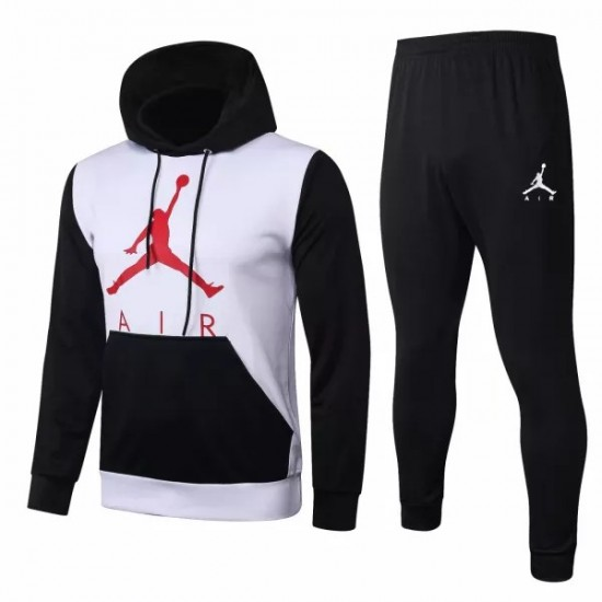 Jordan White Casual fleece Presentation Suit 2020
