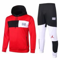 Jordan Red Soccer Presentation Tracksuit 2020