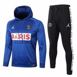 Jordan X PSG Blue Soccer Presentation Tracksuit 2020