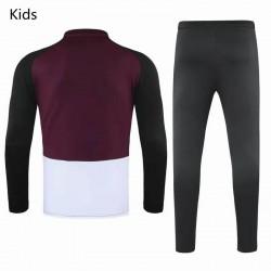PSG X Jordan Training Technical Soccer Tracksuit Purple Black Kids 2020 2021