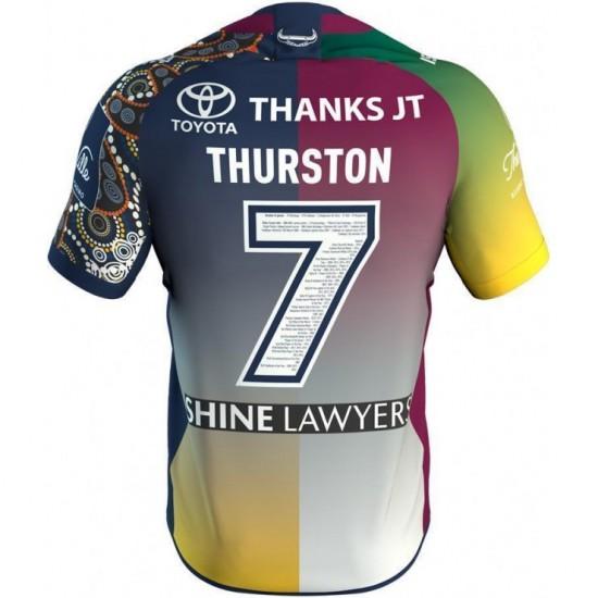 Johnathan Thurston 2018 Adult's Testimonial Jersey