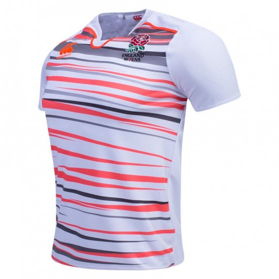 ENGLAND 16/17 MEN'S SEVENS HOME PRO RUGBY JERSEYS