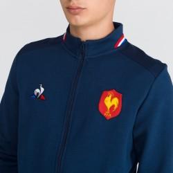 France 2018/19 Presentation Full Zip Rugby Sweatshirt