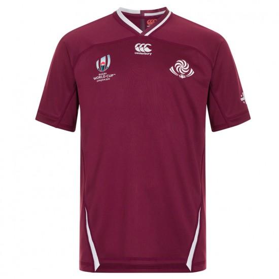Georgia Rugby RWC 2019 VapoDri Home Pro Jersey