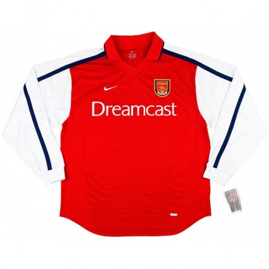 Arsenal Home Retro Long Sleeve Jersey 2000-02