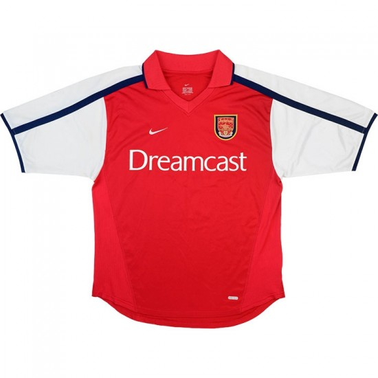 Arsenal Home Retro Jersey 2000-02
