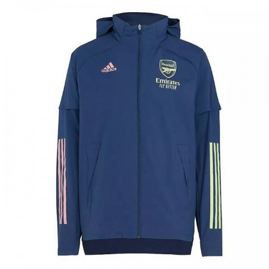 Arsenal Adult All Weather Rain Jacket 2020 2021