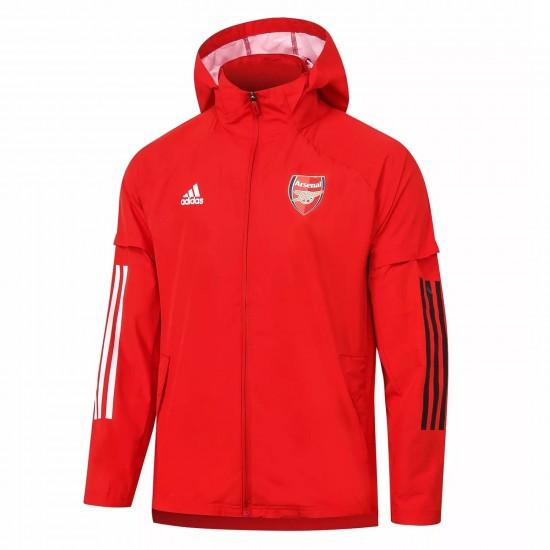 Arsenal Adult 2020 2021 All Weather Rain Jacket