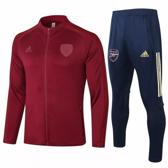 Arsenal FC Presentation Soccer Tracksuit 2020 Red