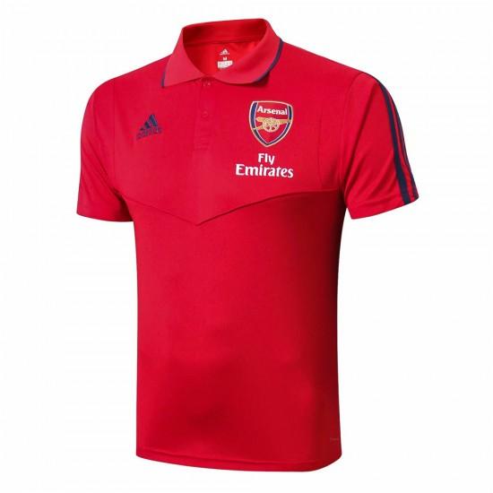 Arsenal Adult 19/20 Red Polo Shirt
