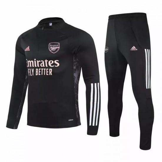 Arsenal FC Training Technical Soccer Tracksuit Black 2020 2021