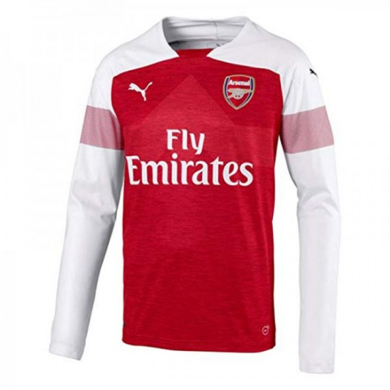Arsenal Home Long Sleeve Jersey 2018/19