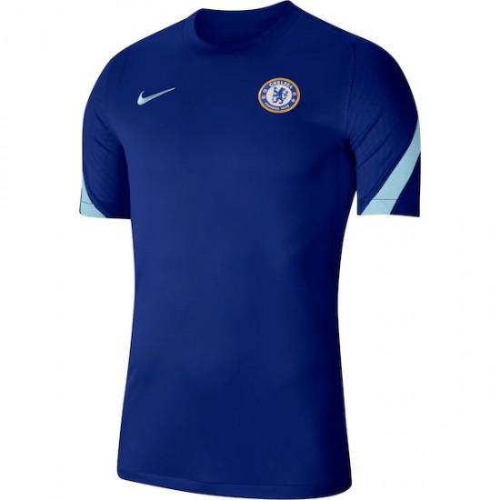 Chelsea Strike Training T-Shirt 2020 - Royal Blue