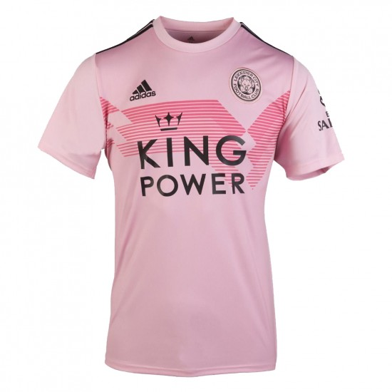 Leicester City 2019 2020 Pink Away Shirt