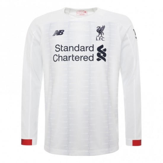 Liverpool Long Sleeve Away Shirt 2019/20