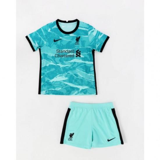 LFC Nike Kids Away Kit 2020 2021