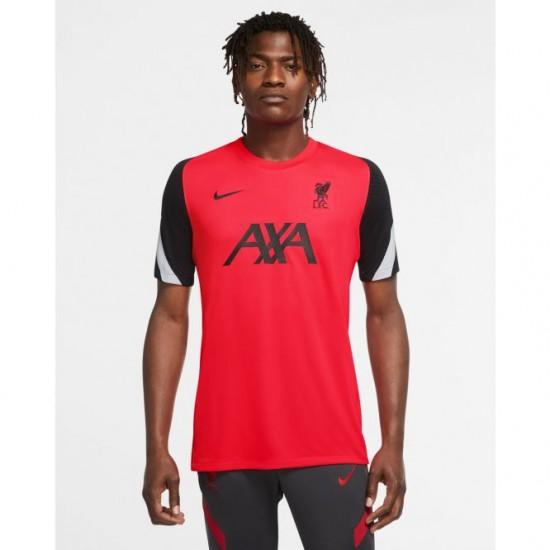 LFC Nike Mens Crimson Laser Strike Training Jersey 2020
