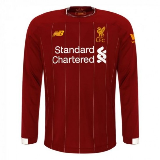 Liverpool Long Sleeve Home Shirt 2019/20