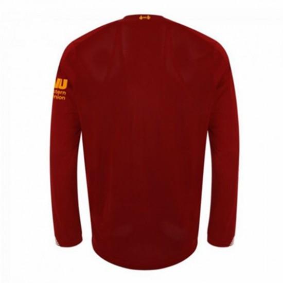 Liverpool Long Sleeve Home Shirt 2019/20