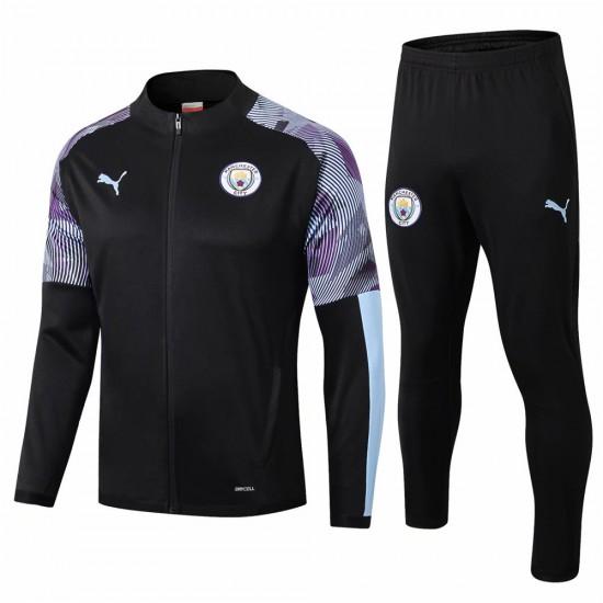 Manchester City FC Training Presentation Soccer Tracksuit 2019-20