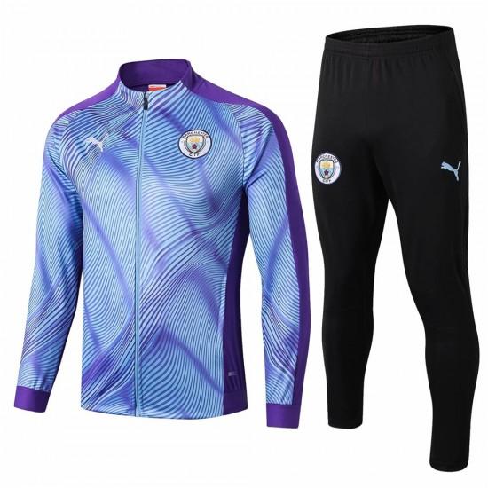 Manchester City Training Presentation Soccer Tracksuit 2019-20