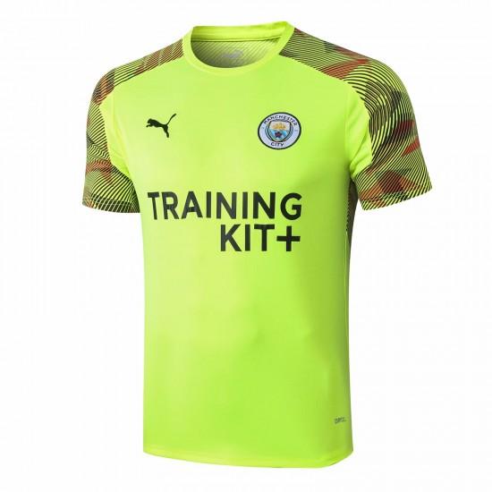 Manchester City Green Training Jersey 2019 2020