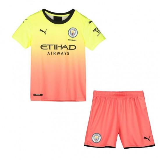 Manchester City Third Kit 2019-20 - Kids