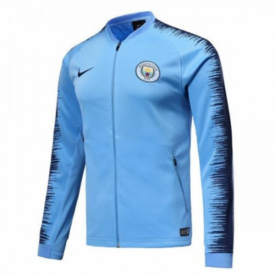 Manchester City Blue Anthem Jacket