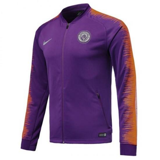 Manchester City Purple Anthem Jacket